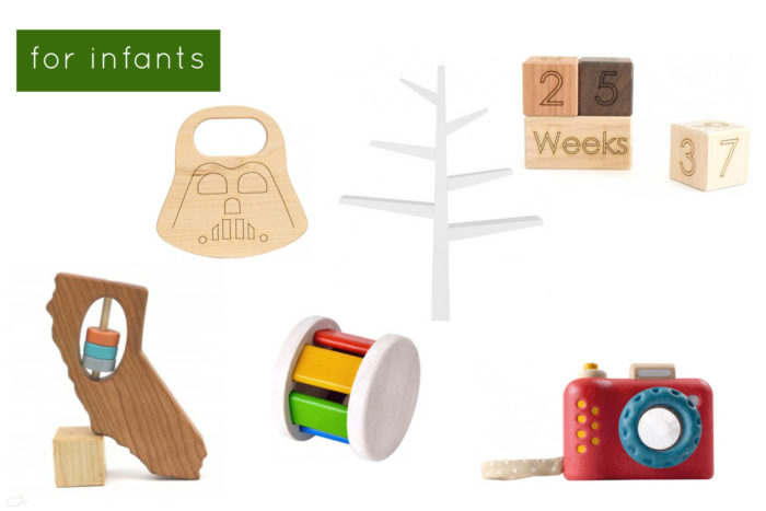 the best wooden gifts for littles