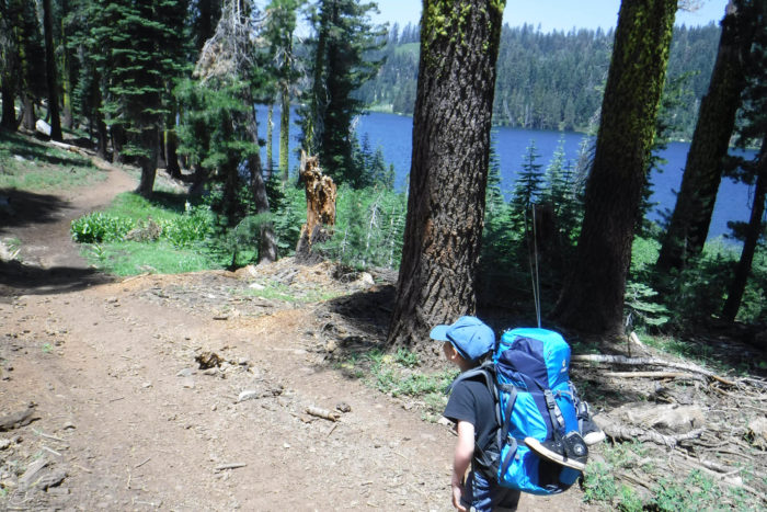preparing your child for their first overnight hike, Hike for Grayson
