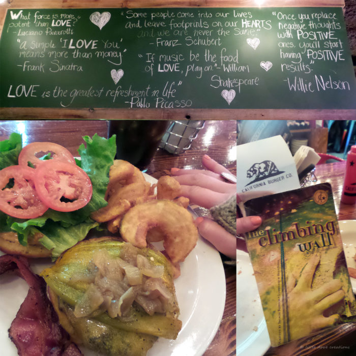 Tahoe Food Collage